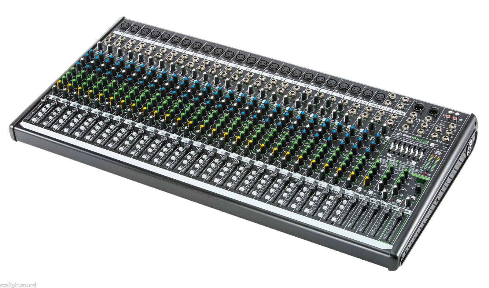 Mackie ProFX30 v2 Mixer 30 kanaler med effekter, USB, 4-bus