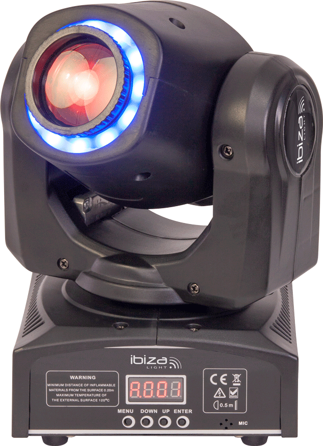 Image of   Ibiza MH-30 Moving Head