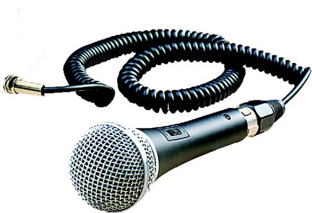 Billede af Mipro dynamisk mikrofon m/kabel & afbryder