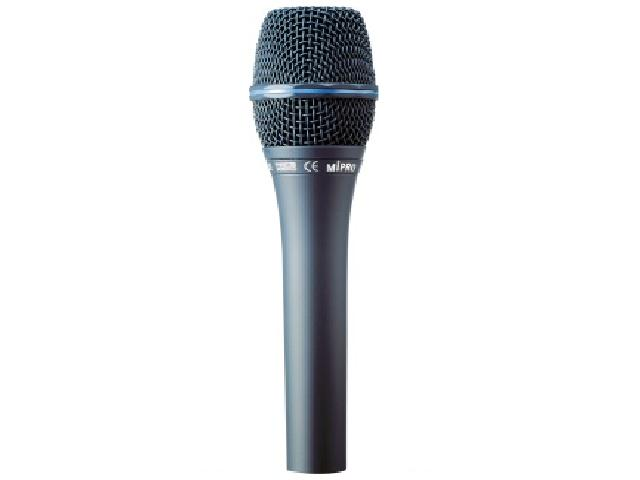Mipro vokal mikrofon nyre (til Phantompower)