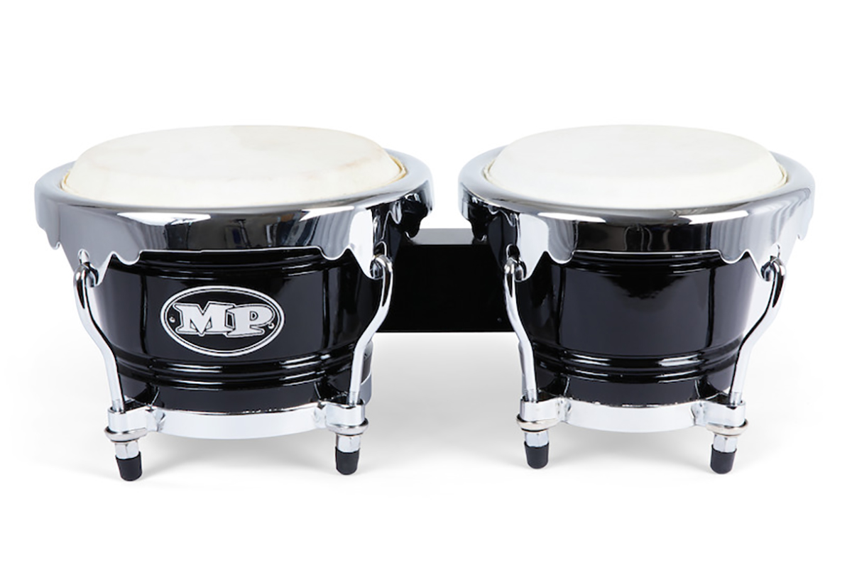 Mano Percussion MP1767-BK - Bongotrommer - Sort