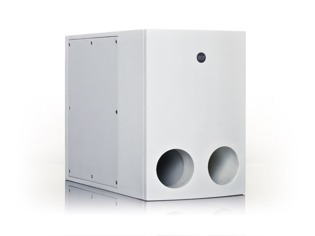 "RCF Subwoofer MQ90 8"" bandpass, Sort"