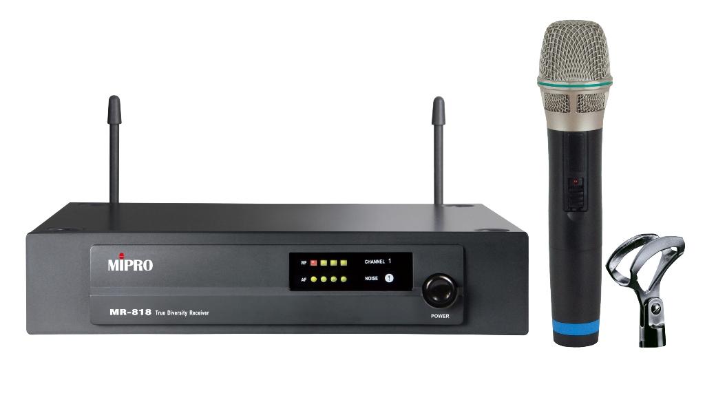 Mipro Vokal trådløs mikrofon sæt frekvens 824.250