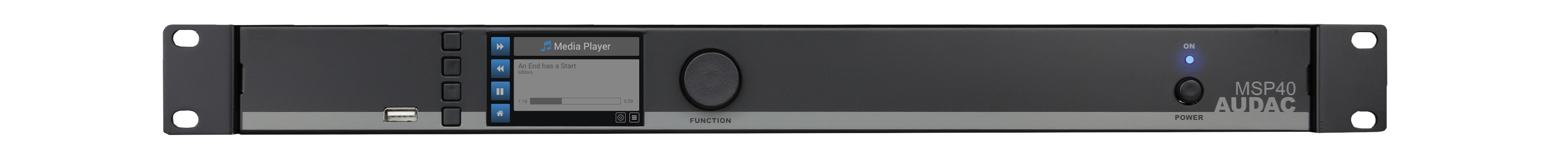 Image of   Audac media player og recorder
