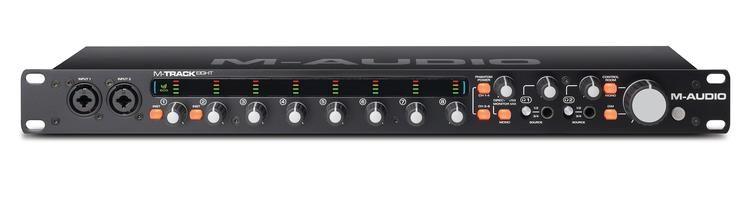 Image of   M-Audio M-TRACK EIGHT