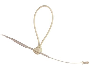 Mipro headset mikrofon MU13 single ear 3 mm kapsel, beige
