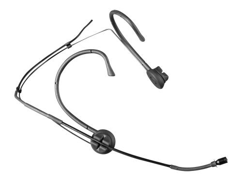 Billede af Mipro headset mikrofon MU55 med 5 mm kugle kapsel, Sort