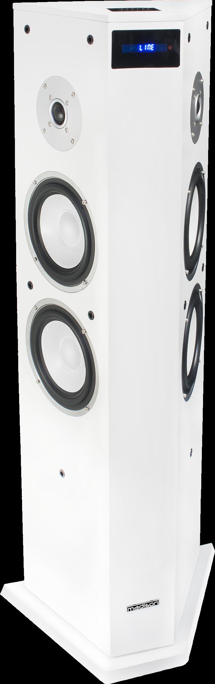 Image of   Madison Bluetooth Højttaler 220W Hvid