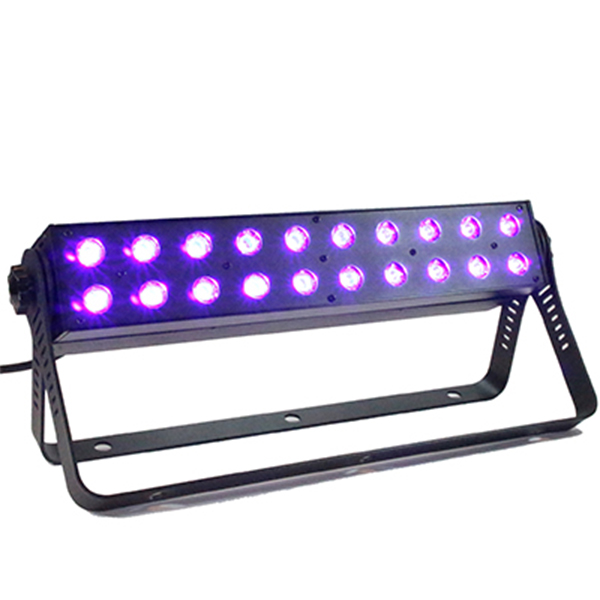 Marconi UV LED BAR 20x3 watt med DMX