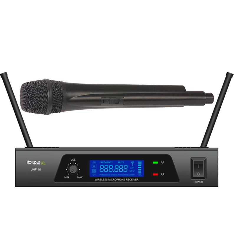Image of   Ibiza UHF Trådløs Mikrofon system