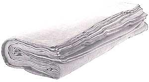 Molton 120m x 3m Hvid 300g