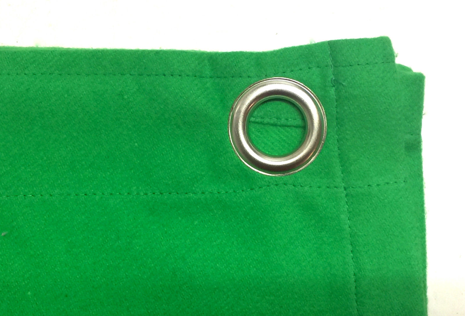Fabriksnye Molton Green Screen Tæppe med øjer → Køb online HER OB-17