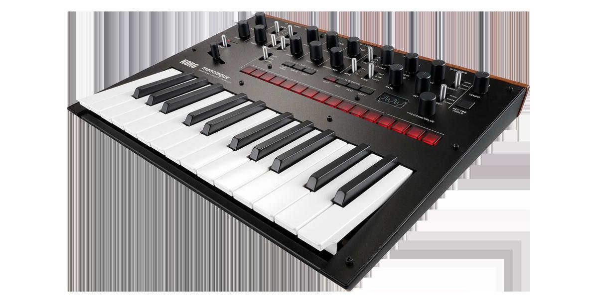 Image of   Korg Monologue Black Synthesizer