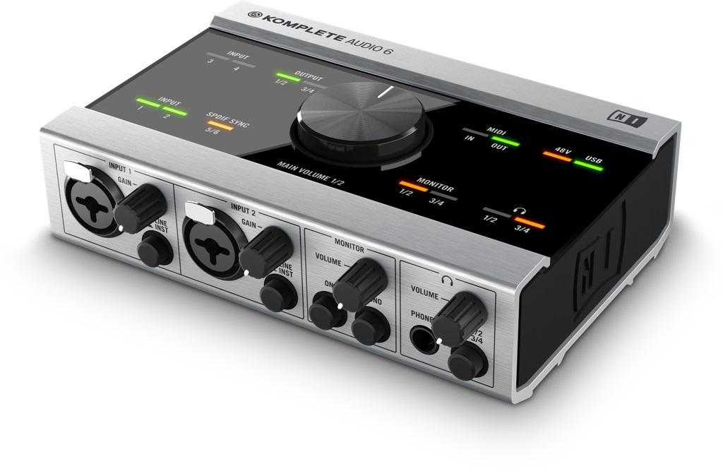 Image of   Native Instruments Komplete Audio 6 Lydkort