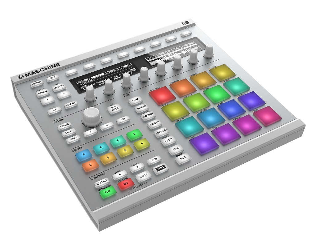 Image of   Native Instruments Maschine MK2, Hvid