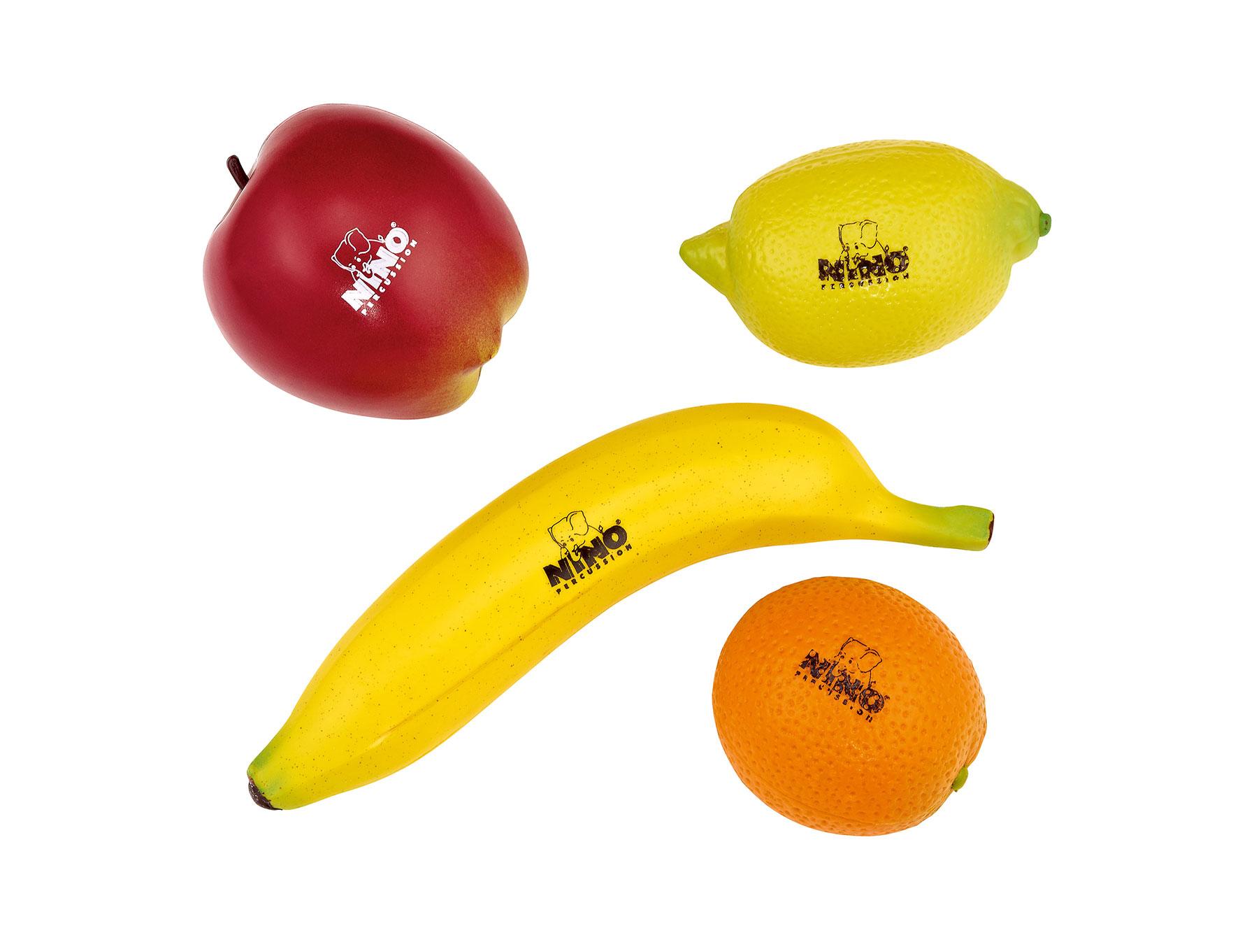 Image of   Meinl Nino rasle frugt - æble Æble