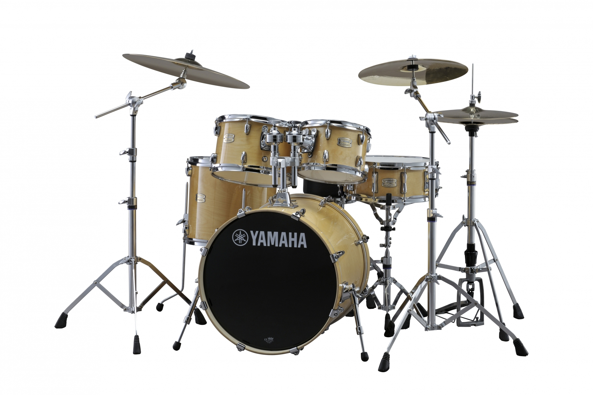Yamaha Stage Custom Birch Studio Trommesæt - Natural Wood