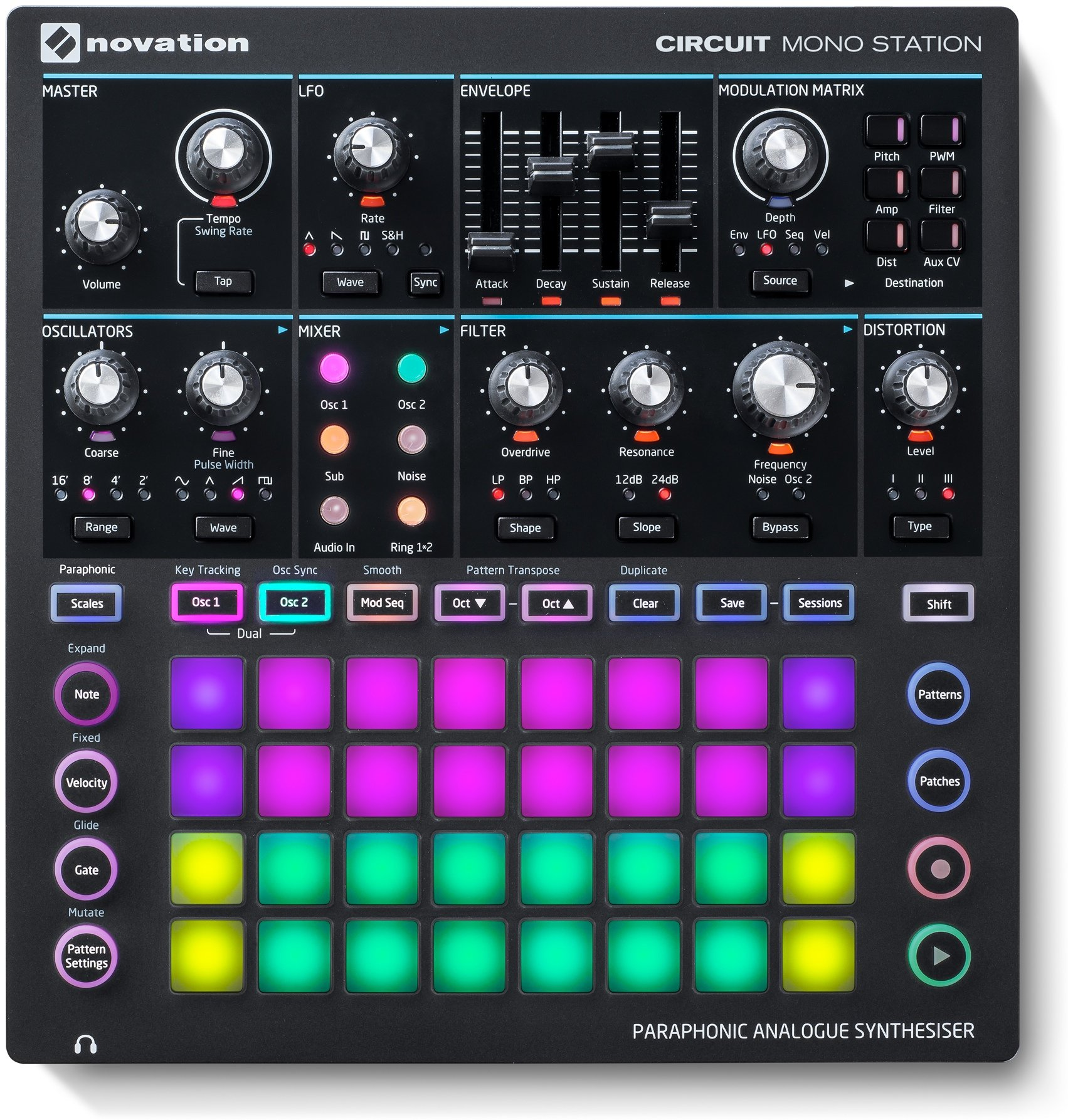 Image of   Novation Circuit Mono Station