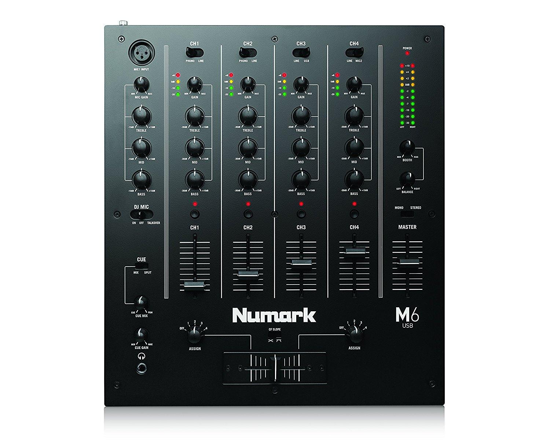 Numark M6 USB Black Mixer