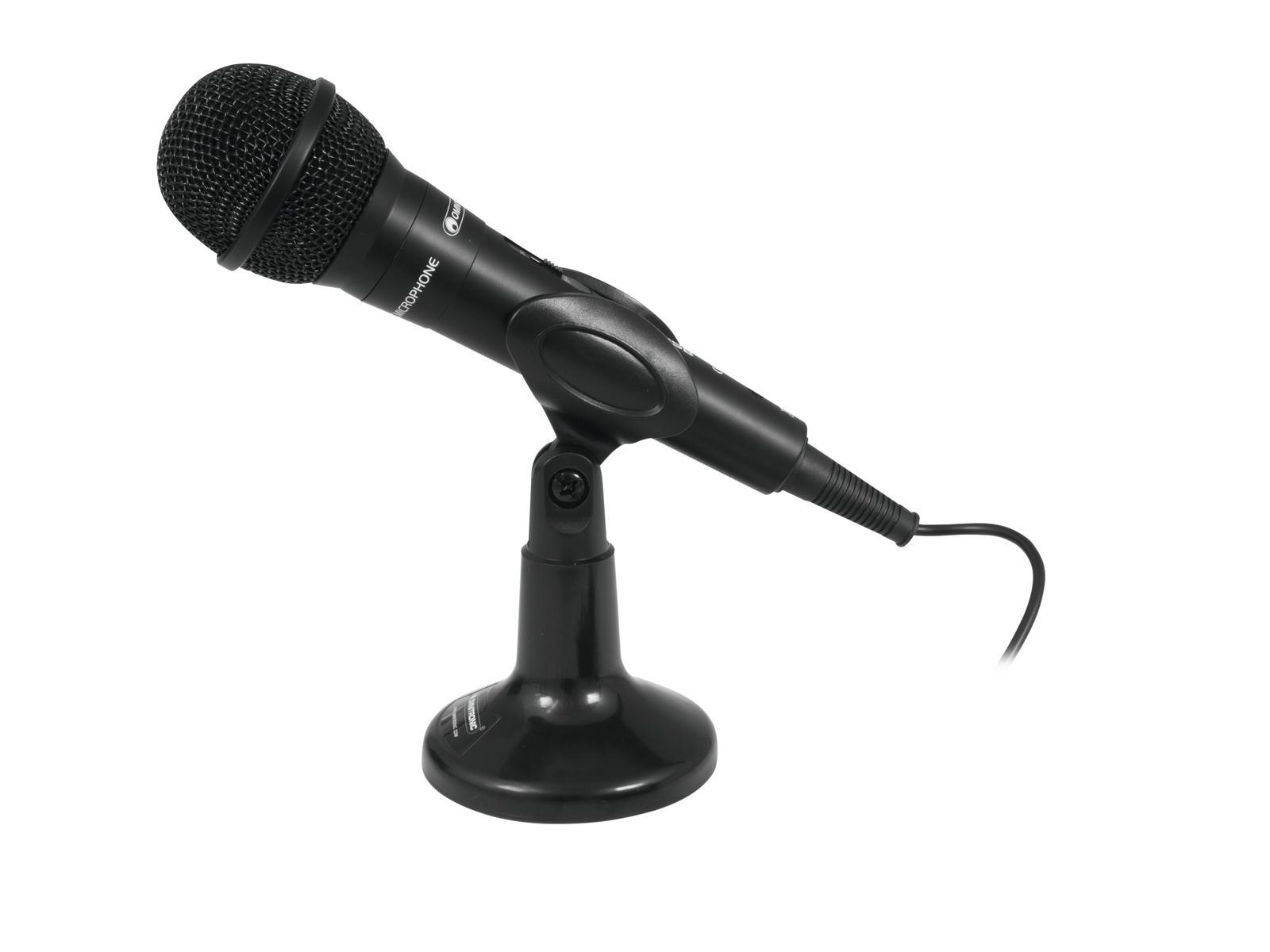 Omnitronic M-22 USB Dynamisk Mikrofon