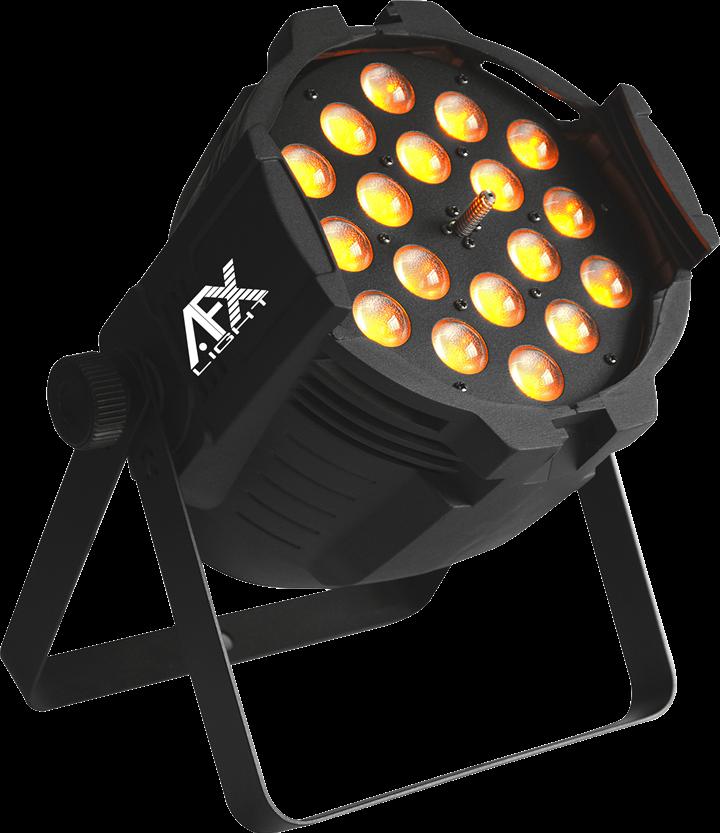 Image of   LED projektør 18x15W RGBAW