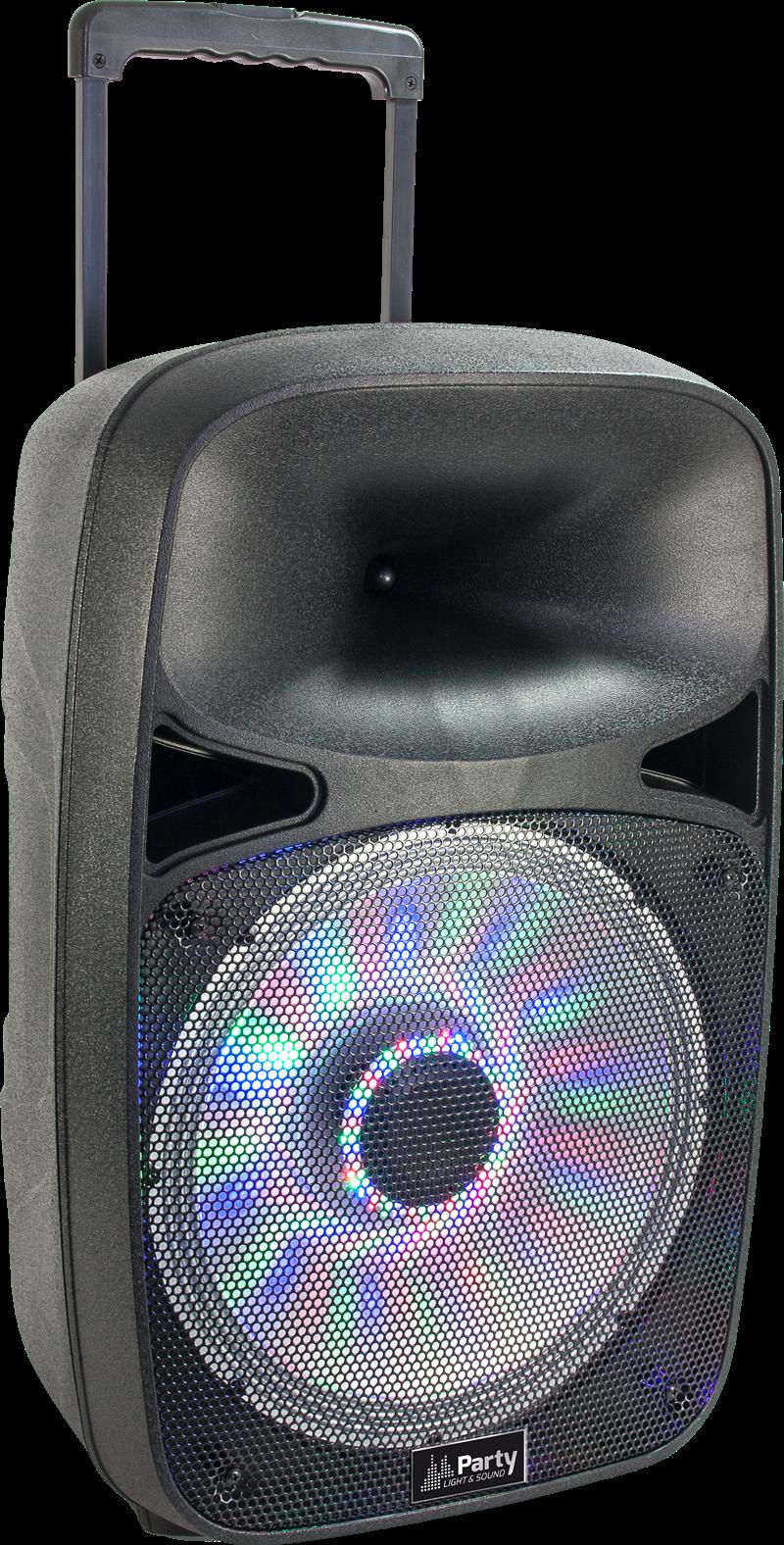 PORTABLE SOUND SYSTEM WITH USB, BLUETOOTH & VHF MIC 15/38cm - 700W