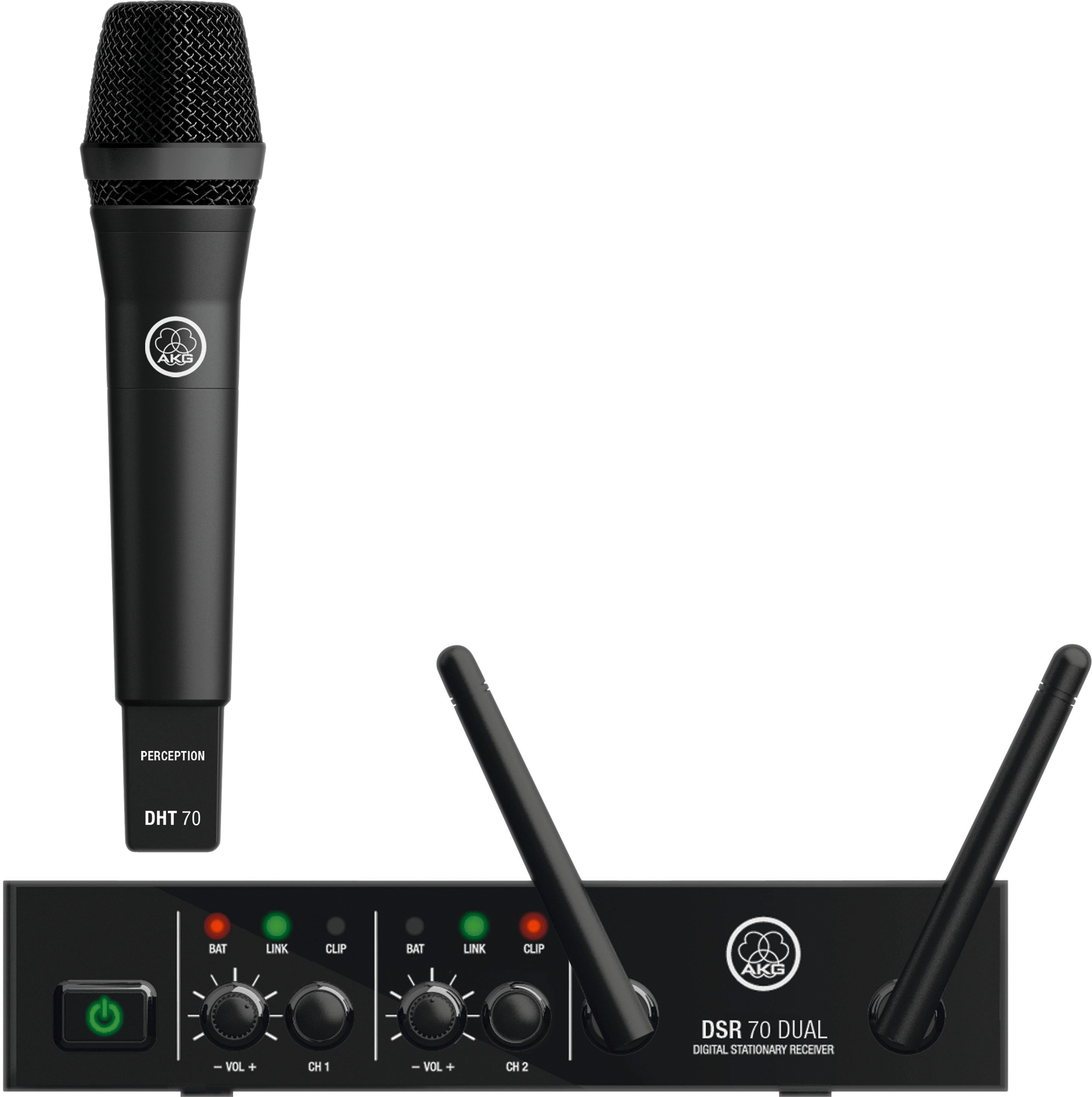 Image of   AKG DMS 70 DUAL Vocal Set.