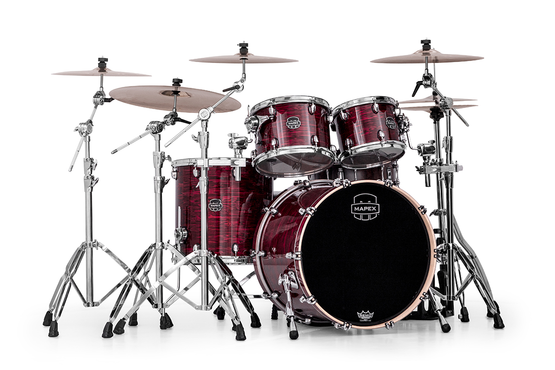 Image of   Mapex Saturn V MH Trommesæt Red Strata Pearl