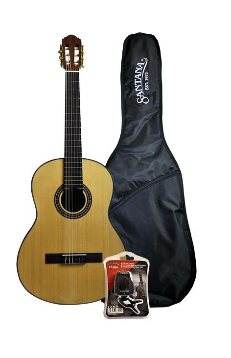 Image of   Santana B8N Klassisk Guitar - inkl. Taske og Tuner