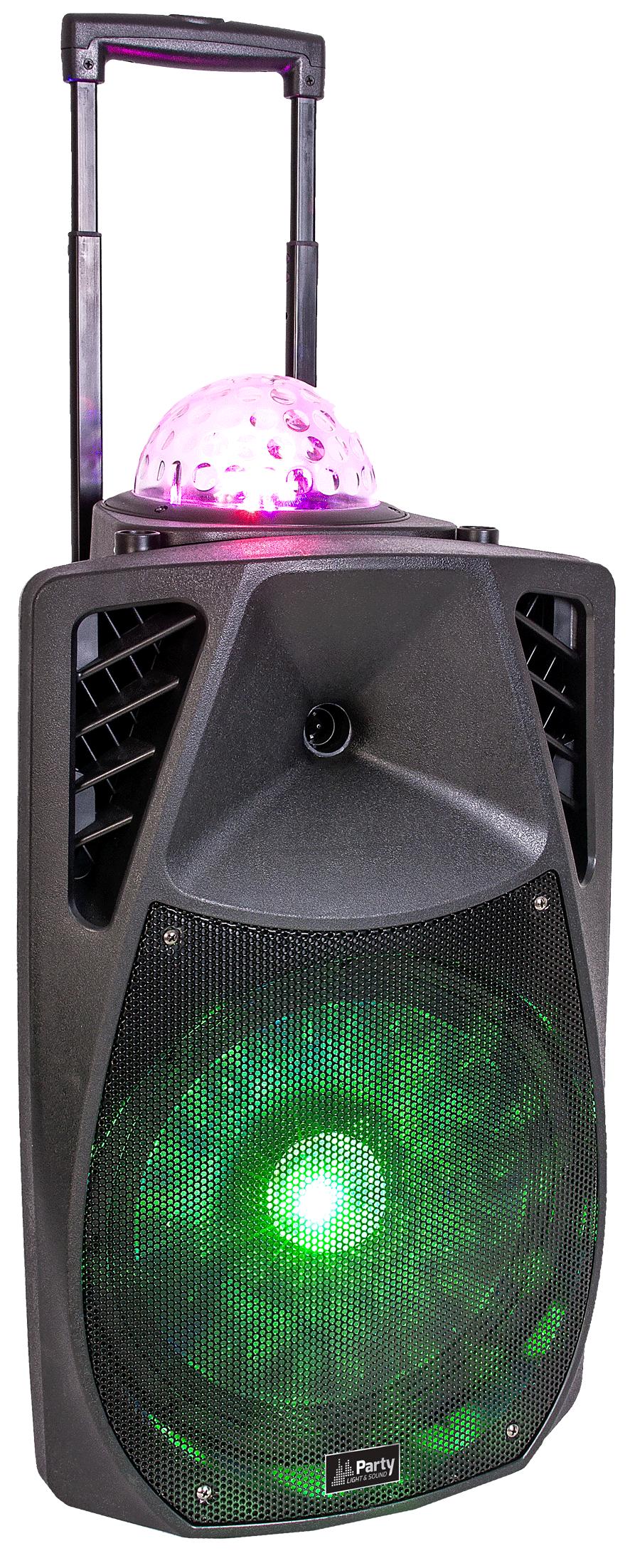 Party Light & Sound transportabel lyd- og lyssystem