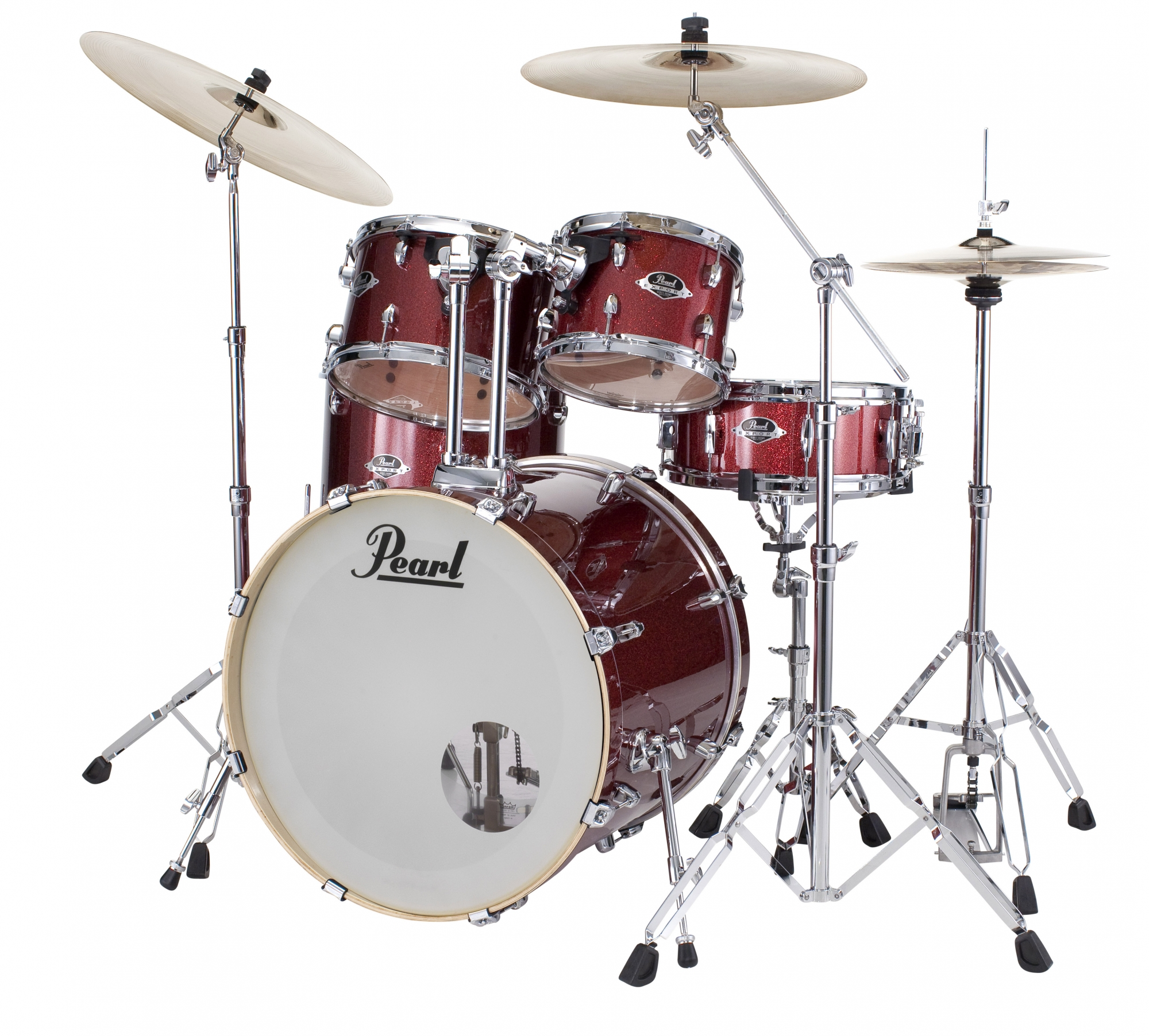 Image of   Pearl Export EXX Standard Trommesæt Black Cherry Glitter