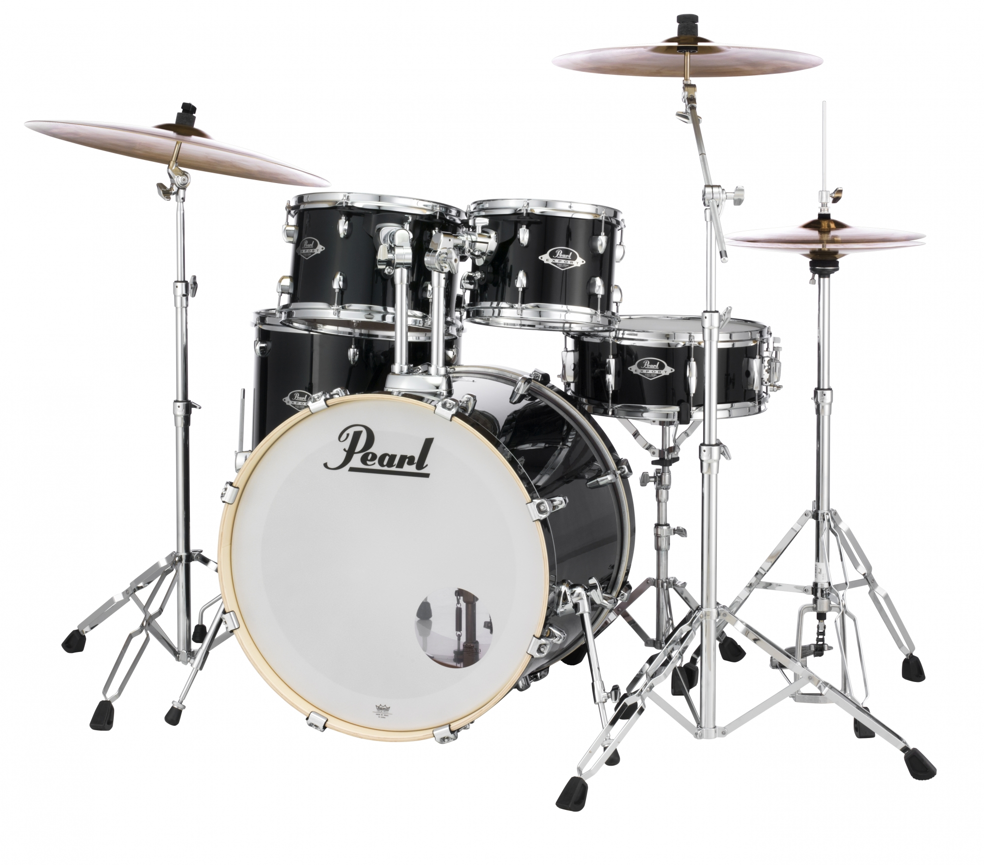 Image of   Pearl Export EXX Rock Trommesæt Jet Black