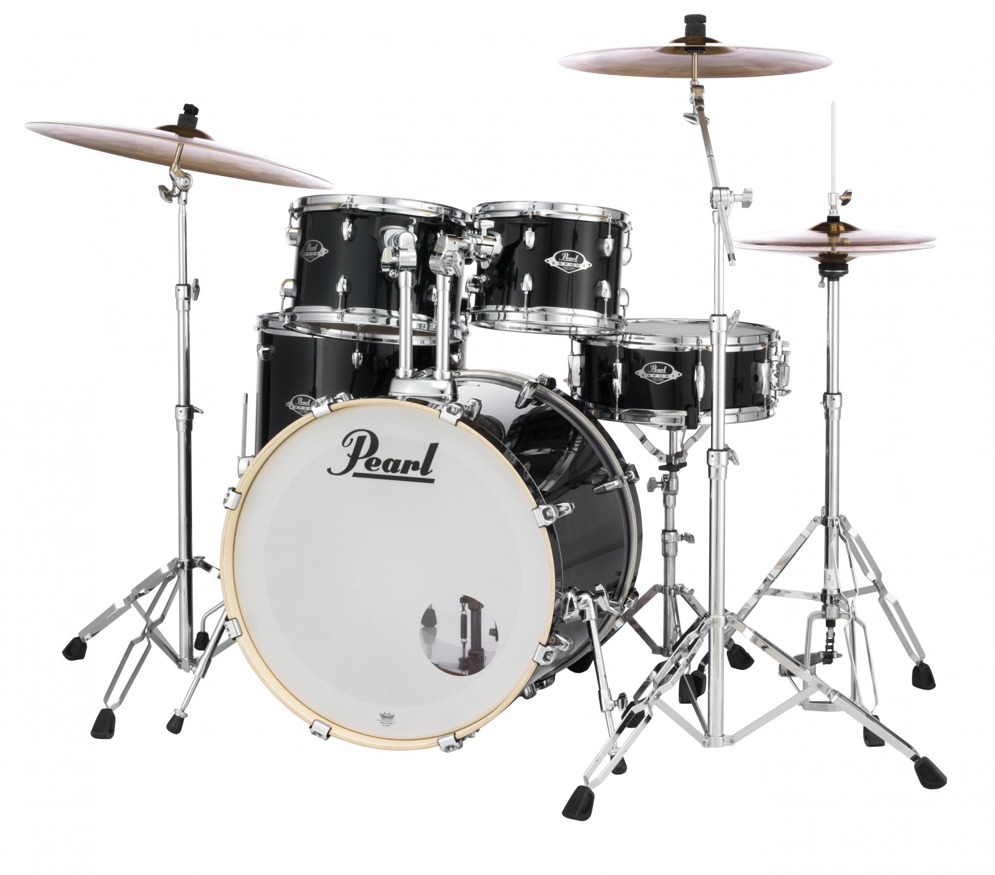 Pearl Export EXX Rock Trommesæt Jet Black