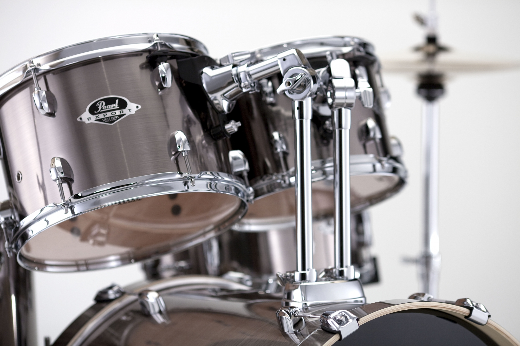 Image of   Pearl Export EXX Studio Trommesæt Smokey Chrome