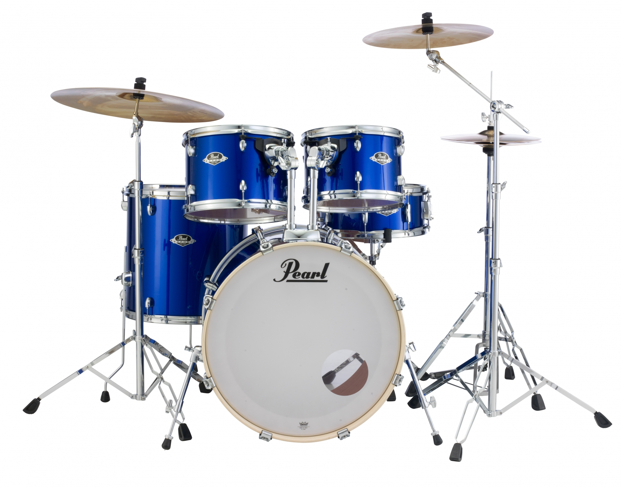 Image of   Pearl Export EXX Standard Trommesæt High Voltage Blue