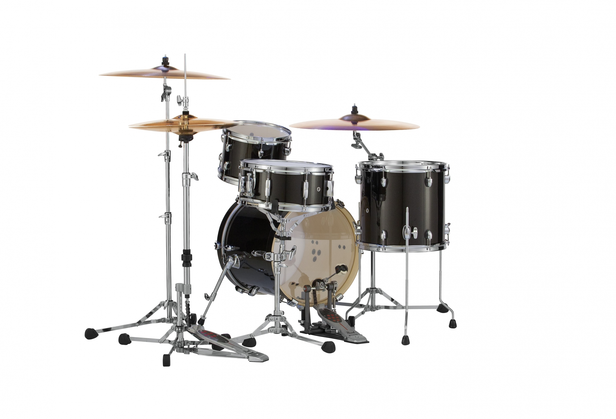 Image of   Pearl Midtown Trommesæt Black Gold Sparkle