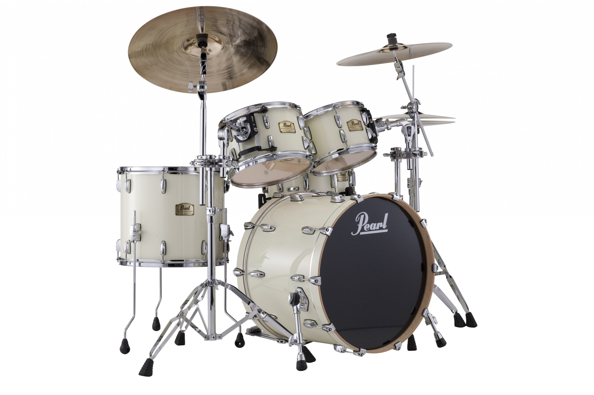 Image of   Pearl Session Studio Classic Rock Trommesæt Antique white
