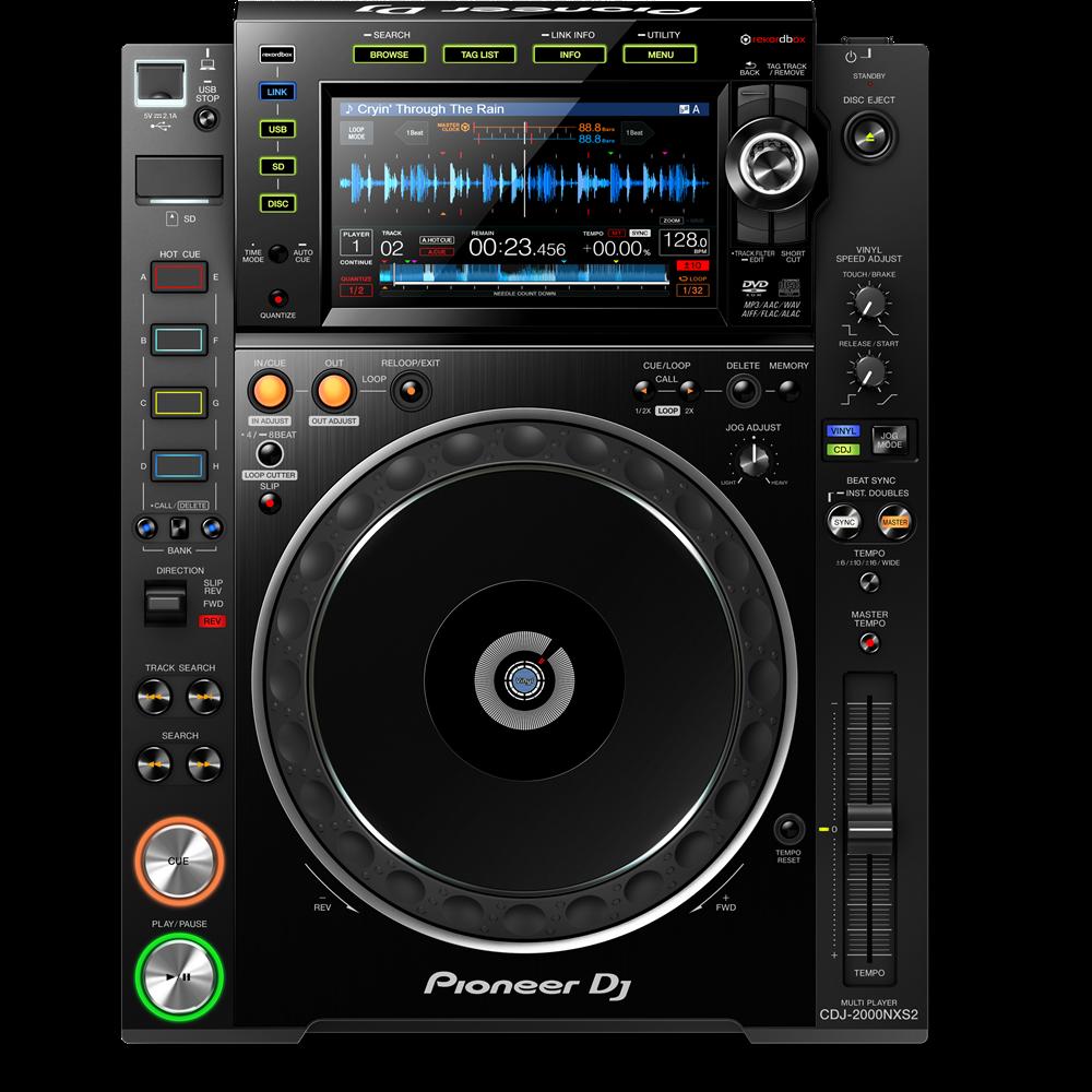 Image of   Pioneer CDJ-2000 NXS2 DJ afspiller