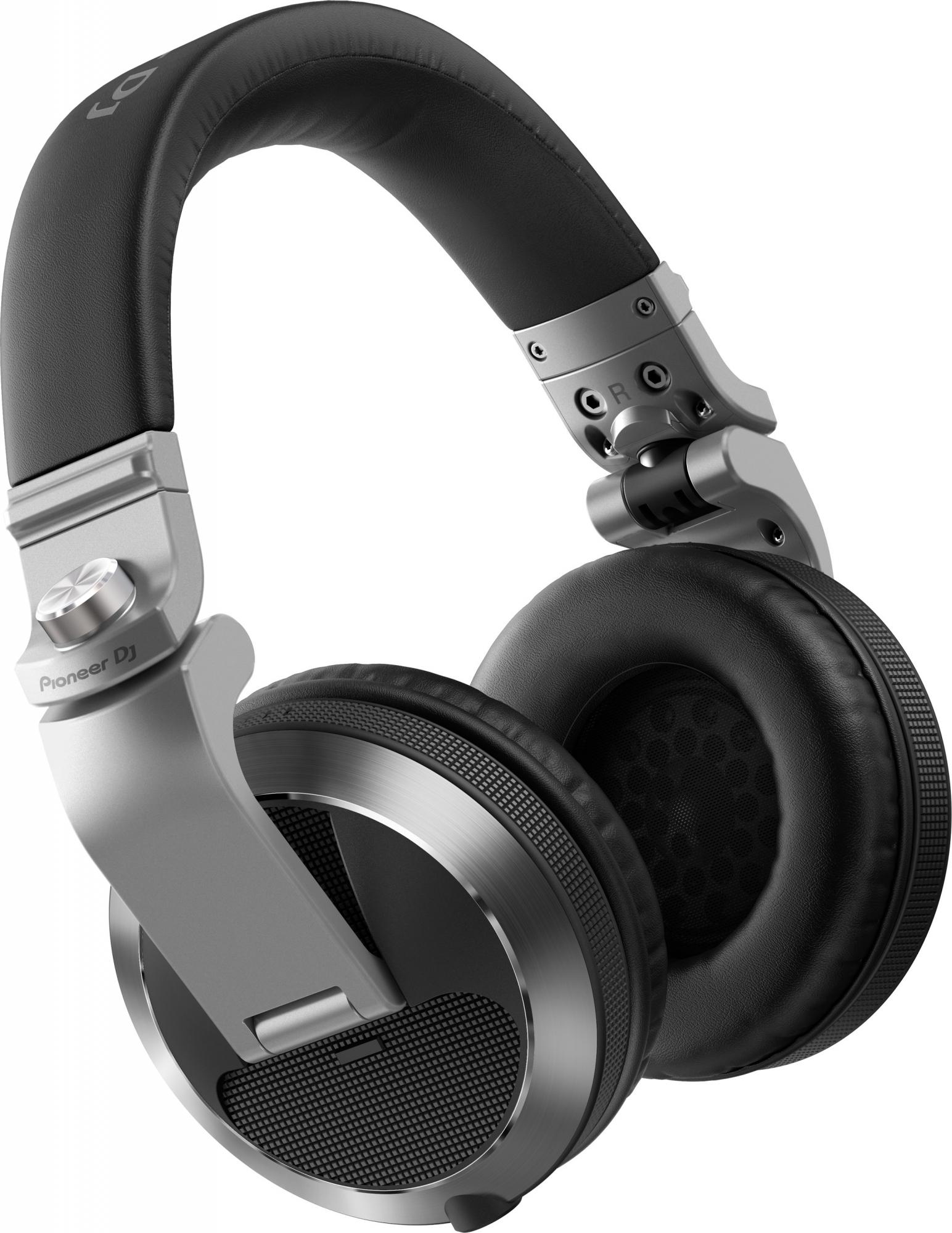 Image of   Pioneer HDJ-X7 DJ hovedtelefon Sølv