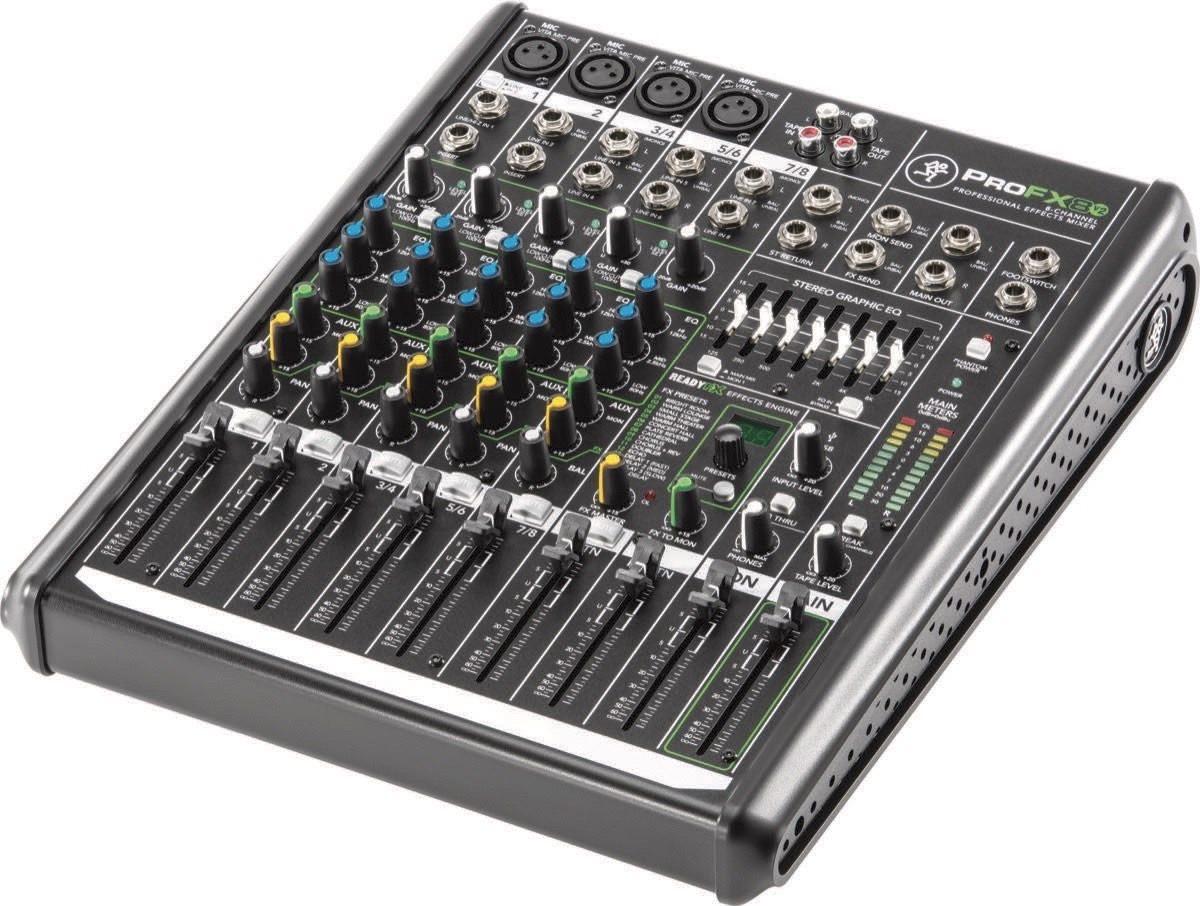 Mackie ProFX8 v2 Mixer 8 kanaler med effekter og USB