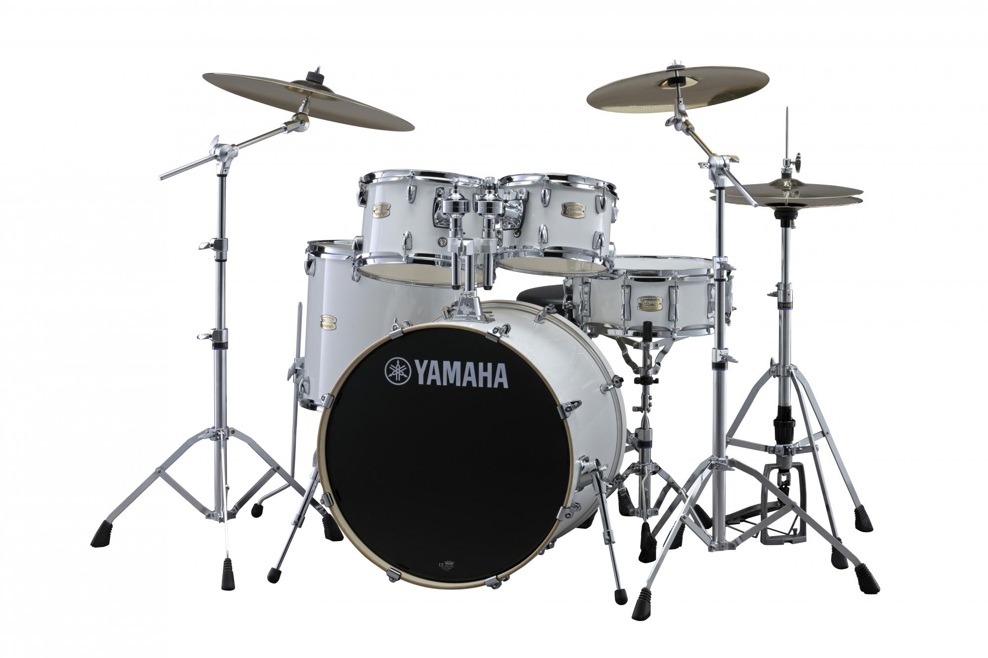 Yamaha Stage Custom Birch Standard Trommesæt - Pure White