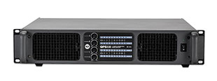 RCF QPS 9600 Power amp, Class HD 4 x 2400W 2 Ohm