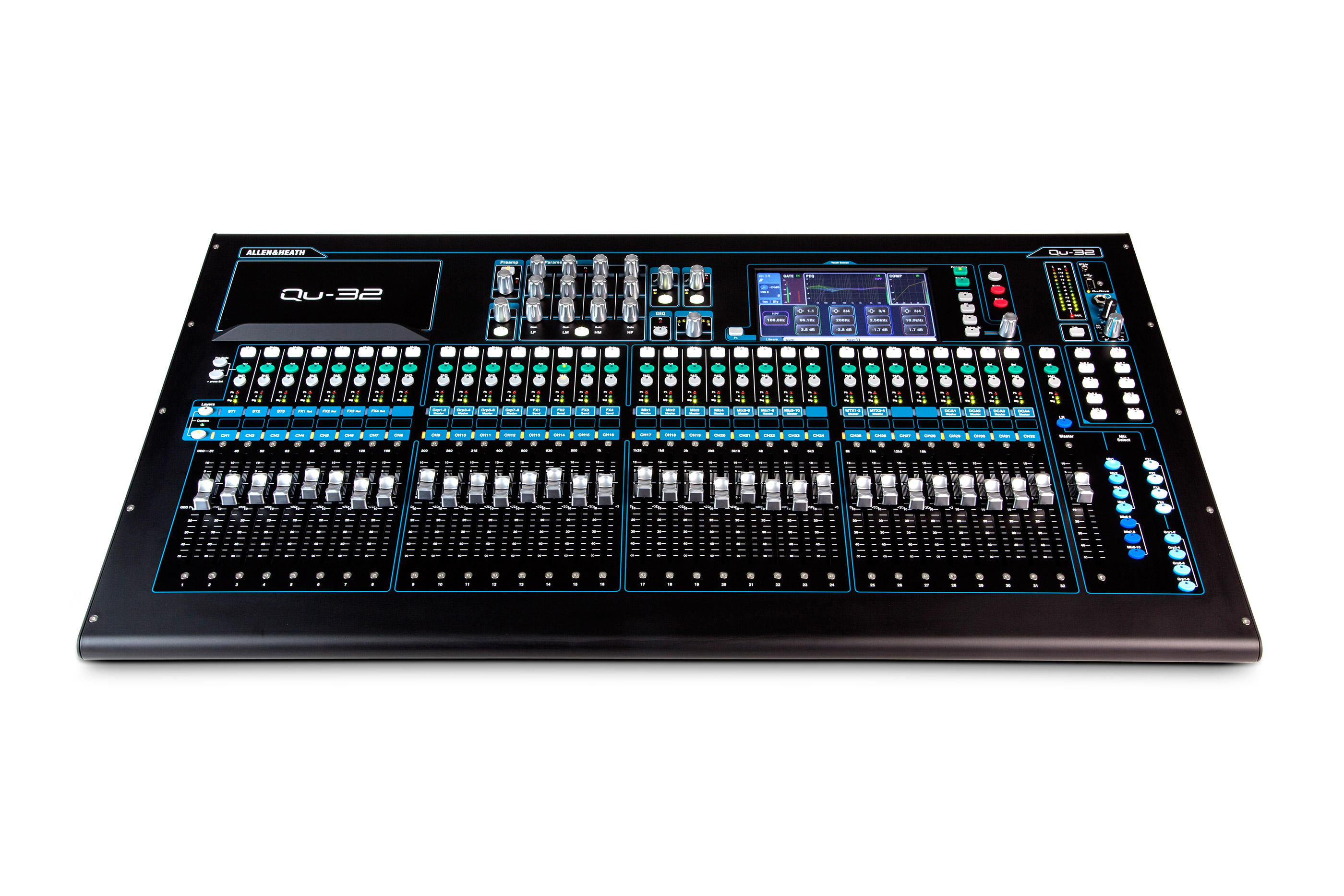 A&H Qu 32 Chrome digital mixer 32 Mic & 3 stereo input