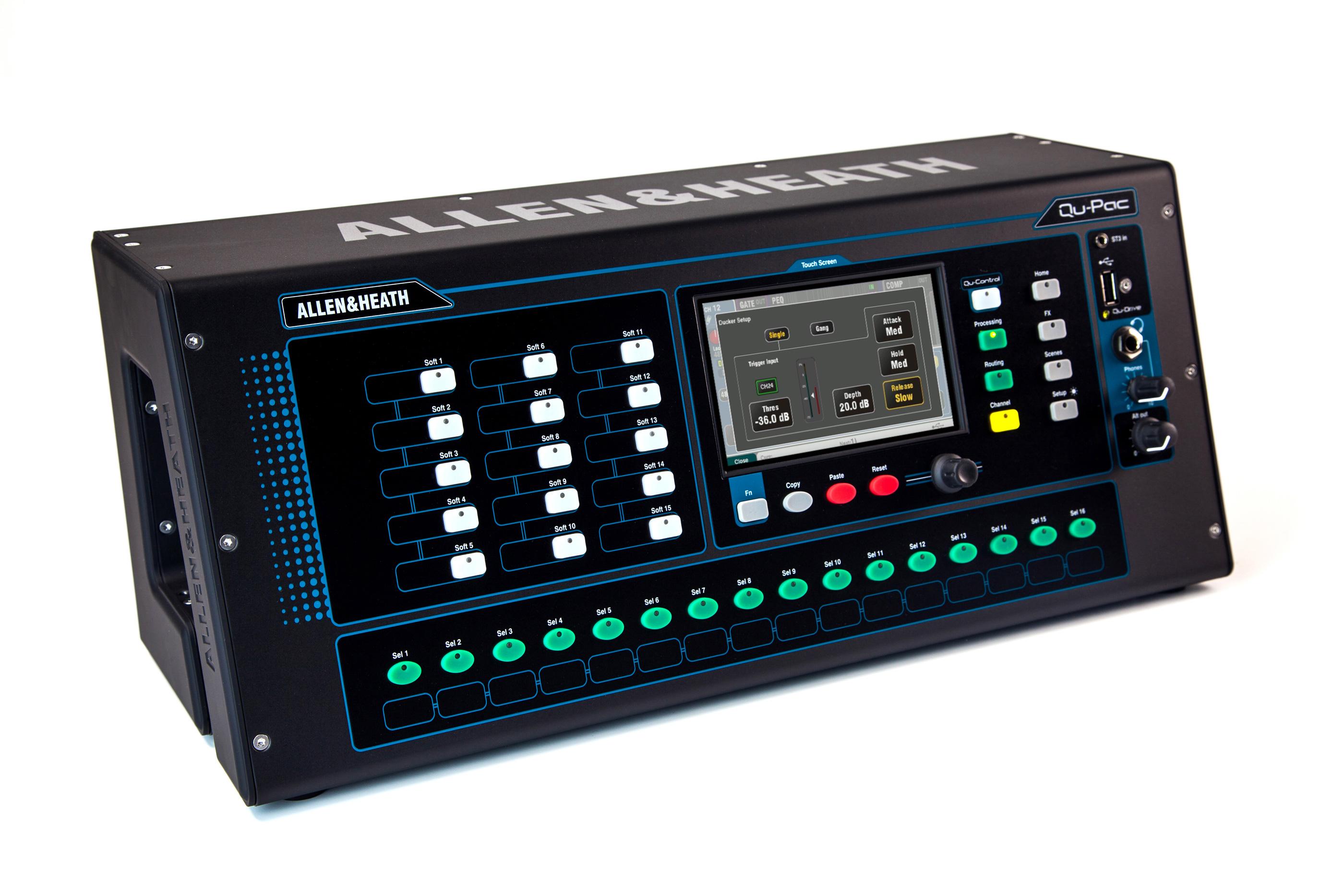 A&H Qu-PAC digital mixer 16 kanaler