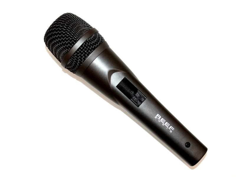 REEF Audio Dynamisk Vokal Mikrofon m/afbryder