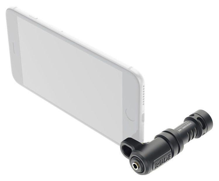 RØDE VideoMic Me video mikrofon til smartphones m/ holder