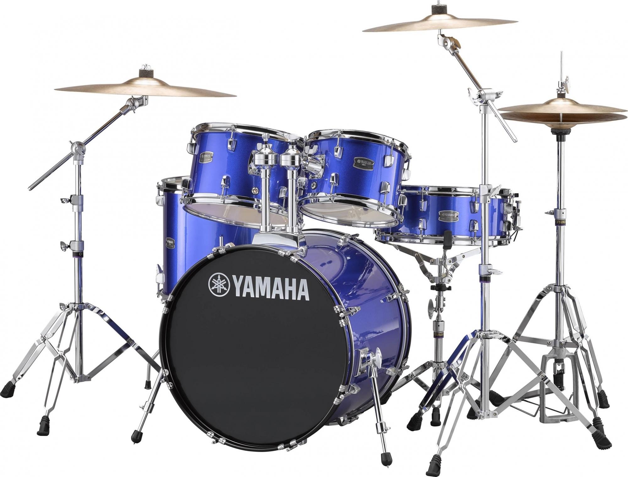 Yamaha RYDEEN Standard Trommesæt - inkl. bækkener & hardware Fine blue