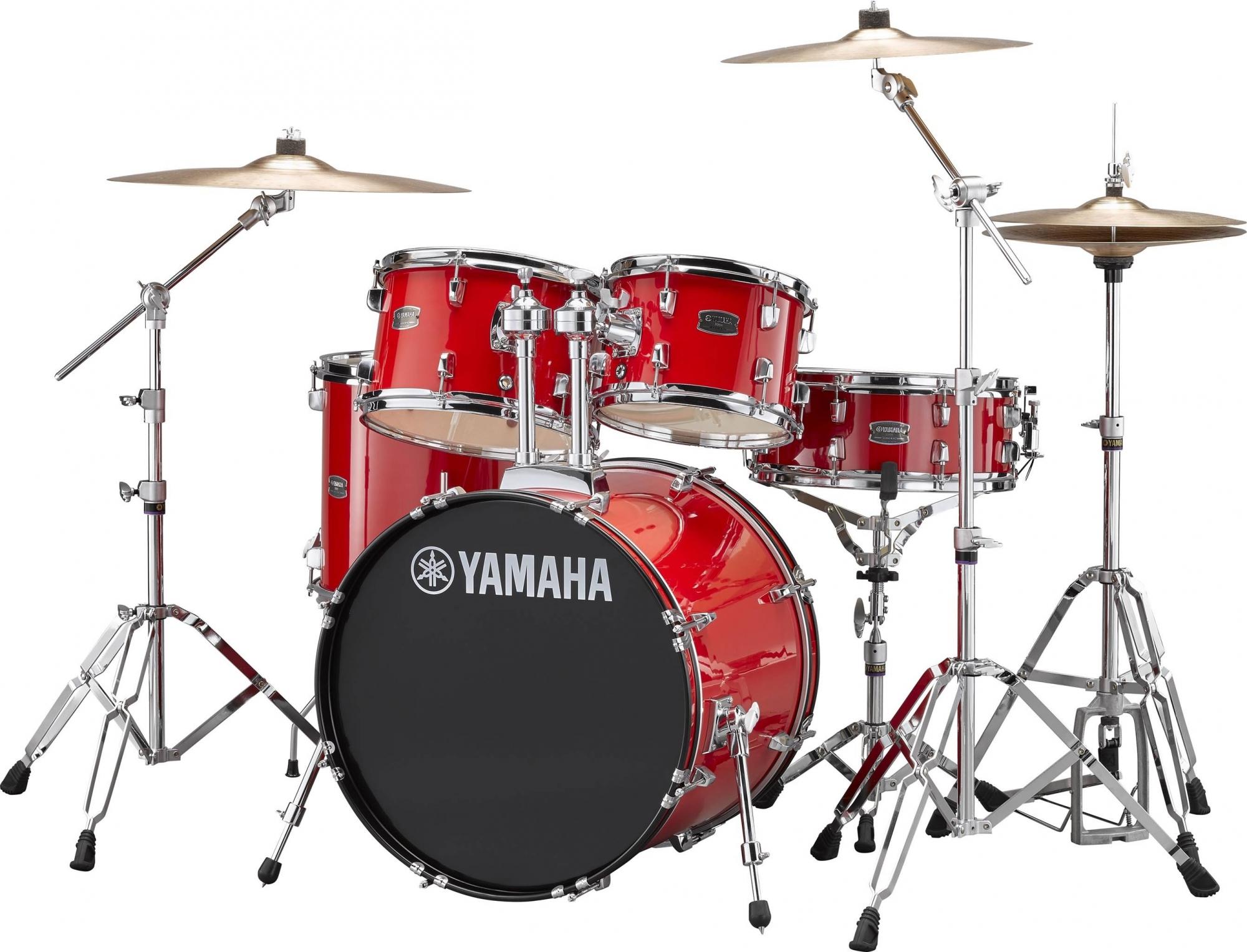 Yamaha RYDEEN Standard Trommesæt - inkl. bækkener & hardware Hot Red