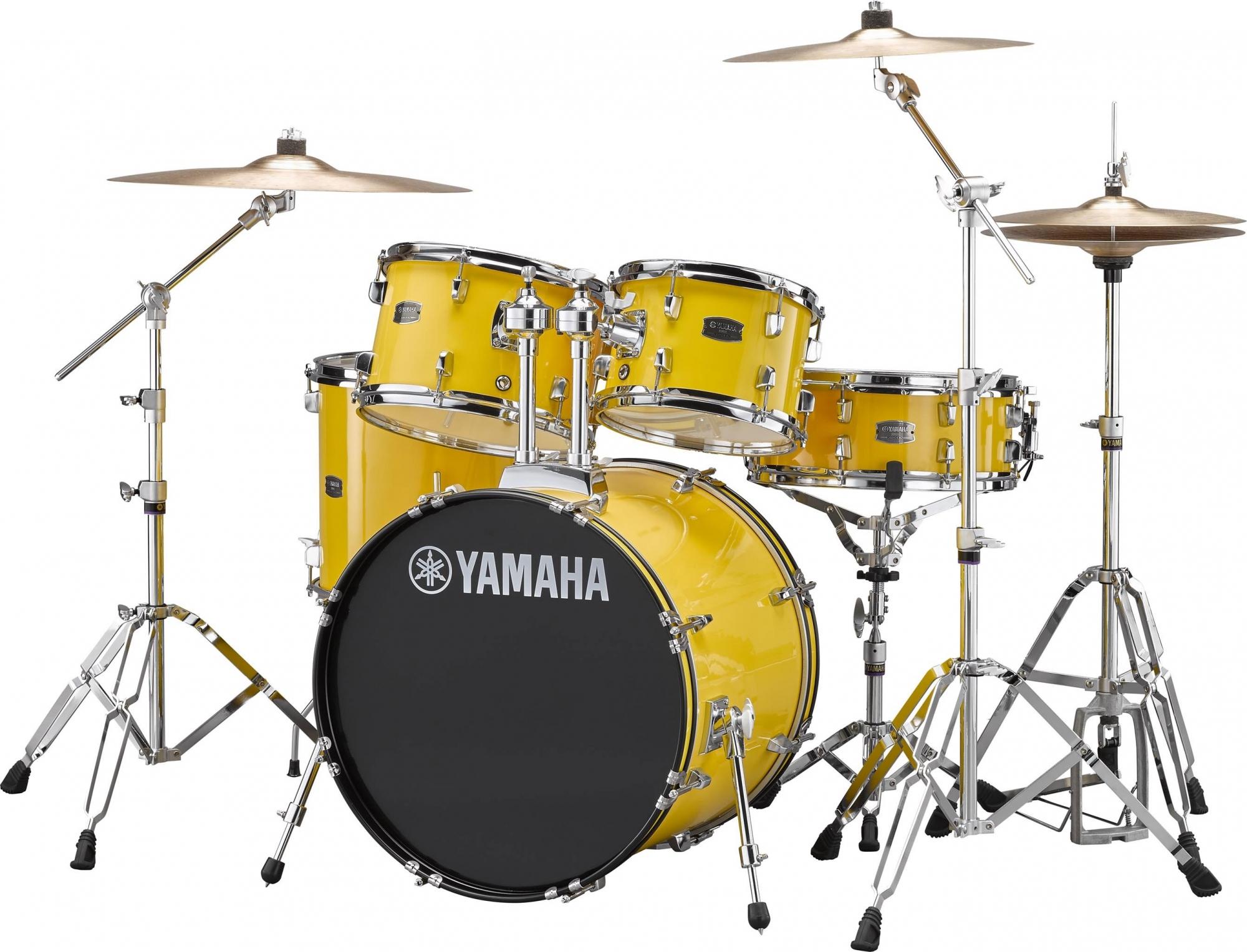 Yamaha RYDEEN Standard Trommesæt - inkl. bækkener & hardware Mellow Yellow