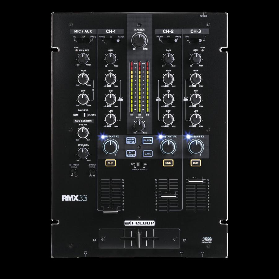 Reloop RMX-33i DJ MIXER 4 Kanaler